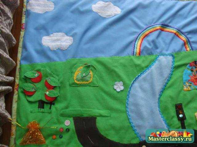 Развивающий коврик. Страна Винни - Пуха. Мастер класс с пошаговыми фото
