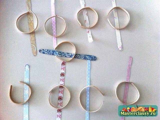 детские браслеты из палочек своими руками мастер класс с фото