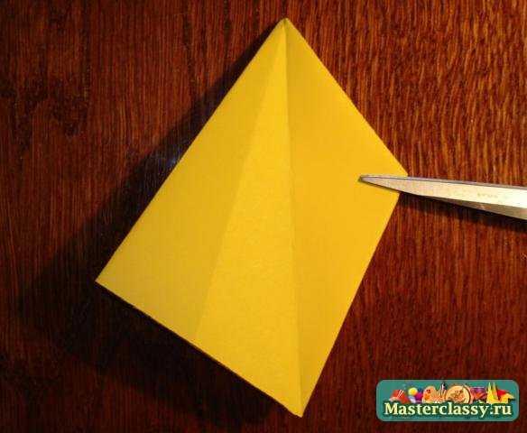 Оригами. Рождественская звезда. Мастер класс с пошаговыми фото