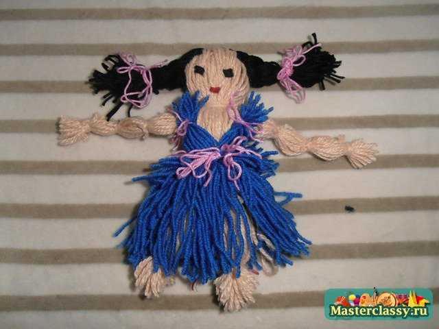 Куклы поделки из ниток 142
