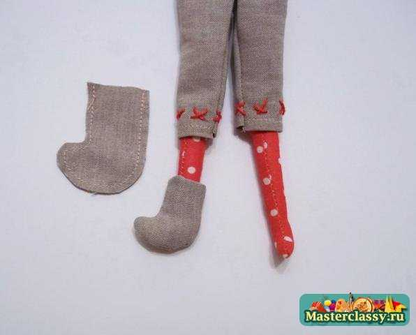 Кукла Тильда Санта. Мастер класс и выкройка