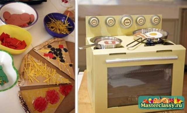 Вторая жизнь старых вещей. Игрушки из картонных коробок