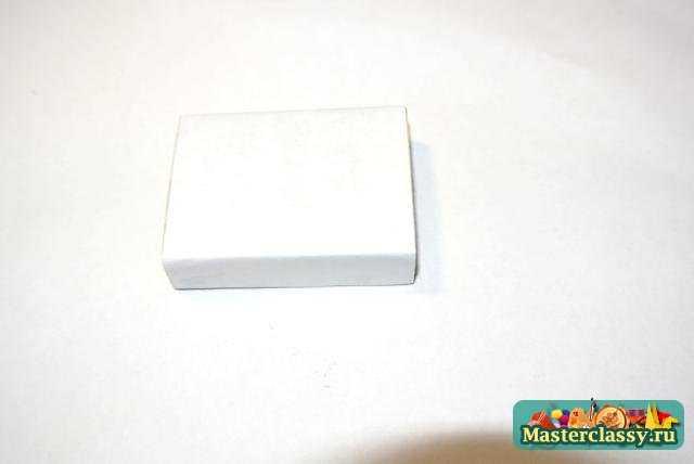 Поделки из спичечных коробков. Мини шкатулка. Мастер класс с пошаговыми фото