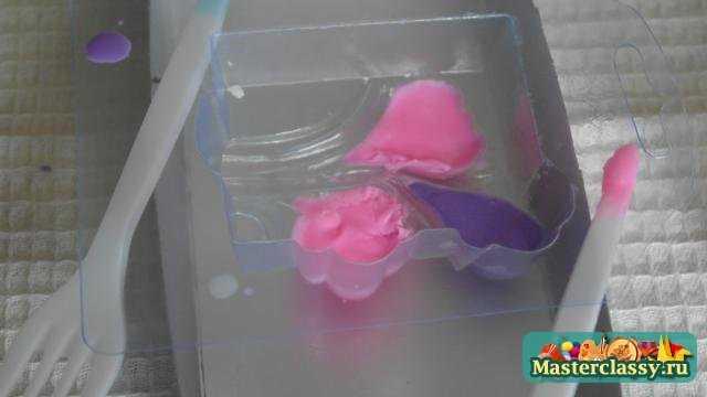 Мыло Цветы. Мастер класс с пошаговыми фото