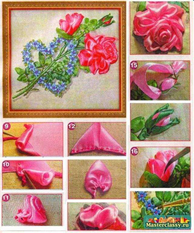 Как сделать объемные цветы?