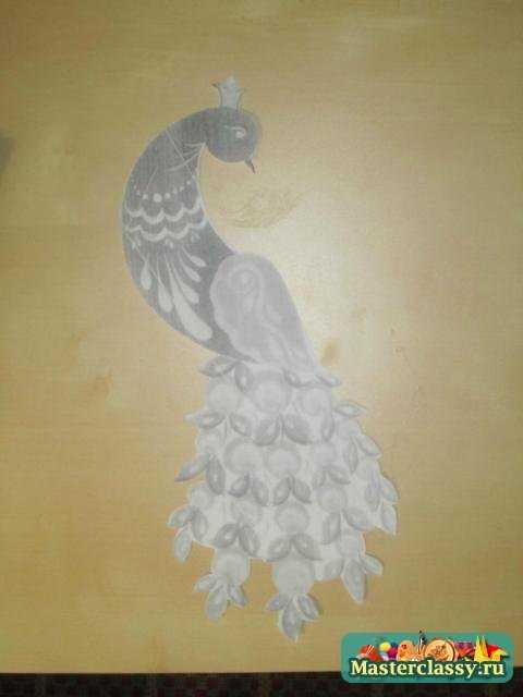 Квиллинг. Декоративная птица Павлин. Мастер класс с пошаговыми фото