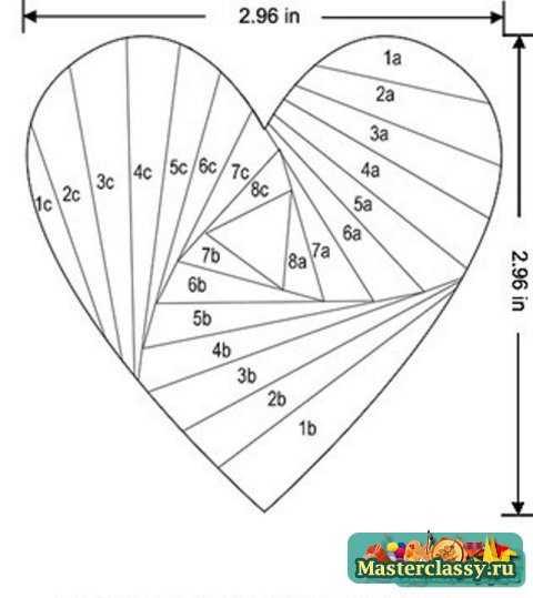 Поделки из бумаги схемы
