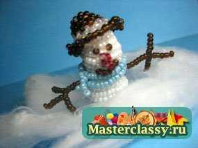 1346696666_1 Снеговик своими руками на Новый год из подручных материалов