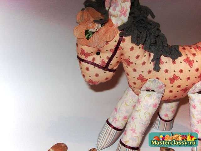 Лошадка своими руками. Мастер класс с пошаговыми фото