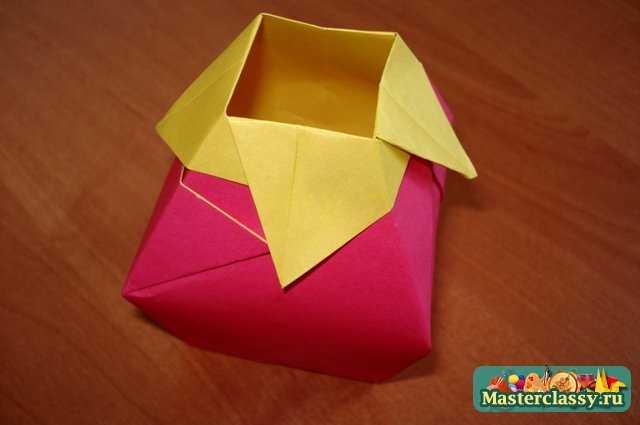 Для начинающих вазы оригами схема 897