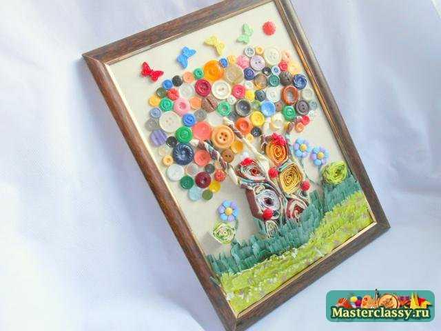 Картина своими руками с фото пошаговое