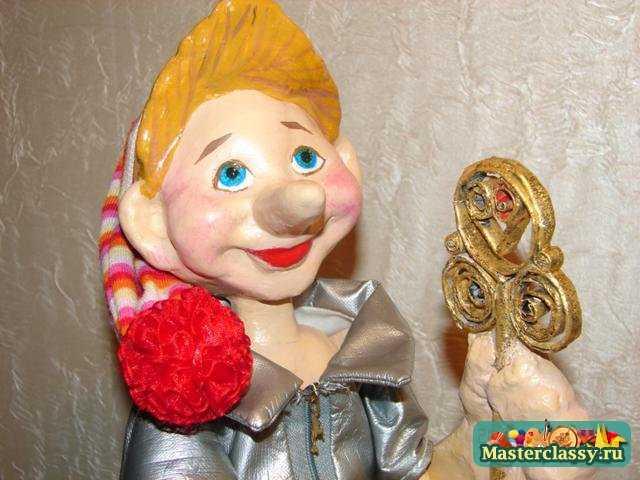 Кукла буратино своими руками