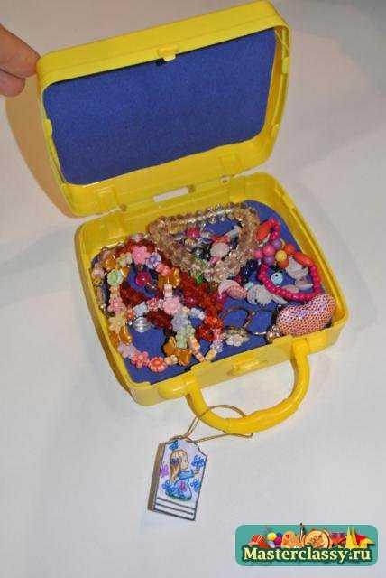 Детский чемоданчик своими руками. Мастер класс с фото