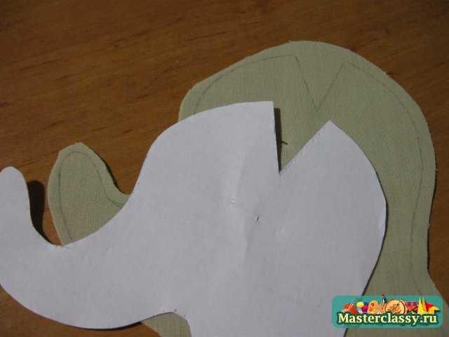 Тильда слоник с цветочком. Мастер класс с пошаговыми фото