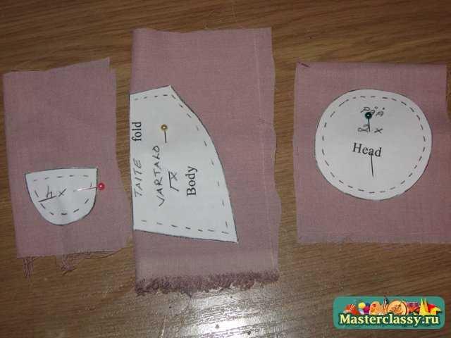 Пошив текстильной игрушки - декор для интерьера - Ангел. Мастер класс с пошаговыми фото.