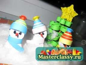 1348901467_1 Снеговик своими руками на Новый год из подручных материалов