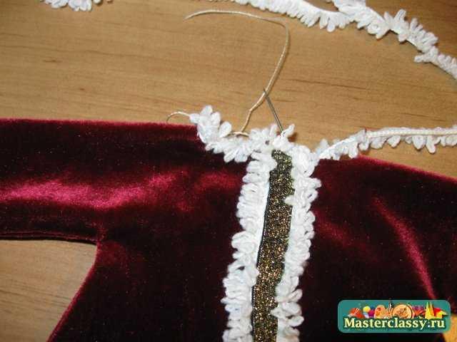 Санта - Морозник. Мастер класс с пошаговыми фото и подробным описанием