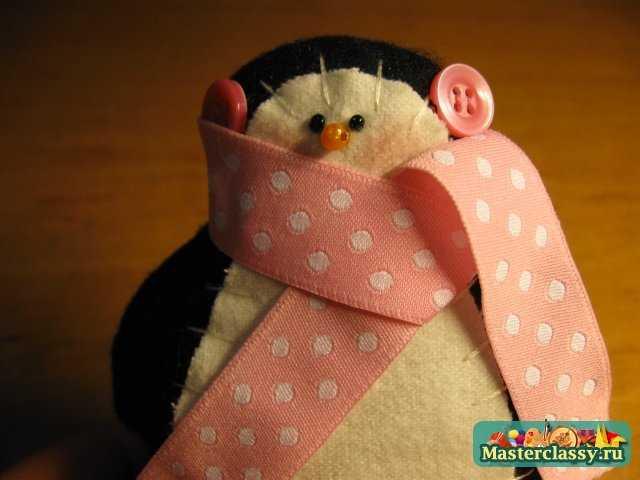 Семейка пингвинов - Тильда. Мастер класс