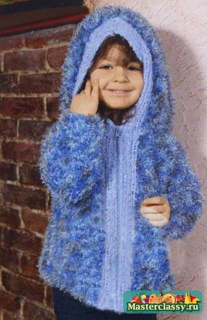 вязаная кофта с капюшоном для мальчика на 3 4 года