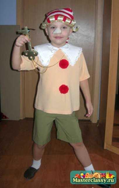 Карнавальный костюм Буратино. Выкройка - photo#27