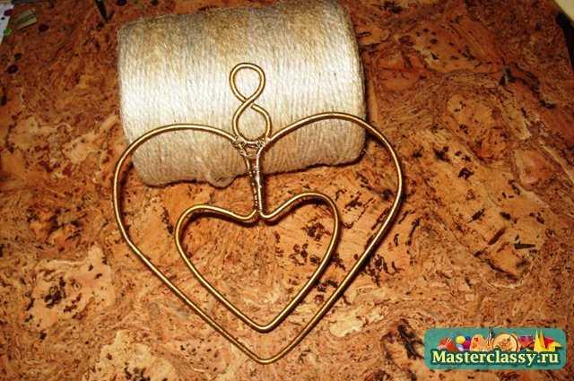 Авторская подвеска «Сердце». Мастер класс