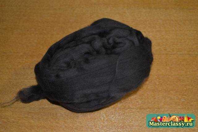 Валяние из шерсти детских тапочек. Мастер класс с пошаговыми фото