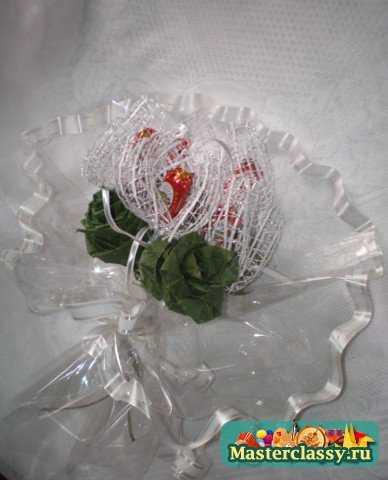 Цветов алейске, букет из 23 роз мастер класс