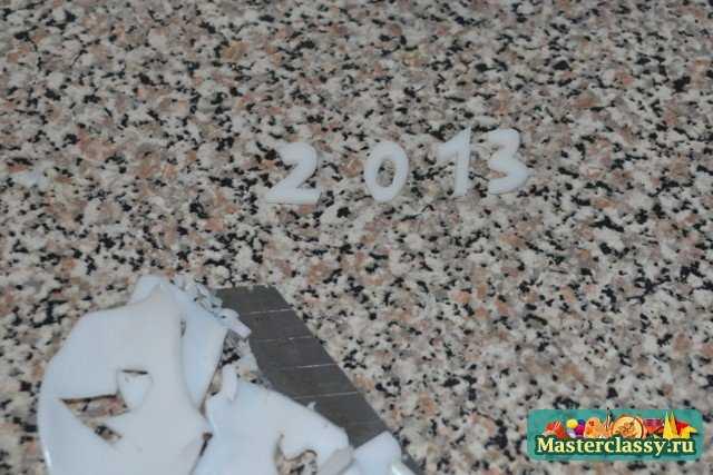 Мыло 2013 своими руками. Ёлочка. Мастер класс с пошаговыми фото