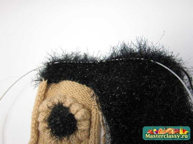 Вязание варежек для принцессы на зиму. Мастер класс с фото
