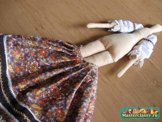 Юбка для куклы тильда