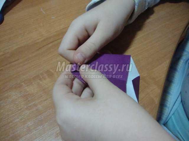 Аппликация. Веточка рябины с элементами оригами. Мастер класс с пошаговыми фото