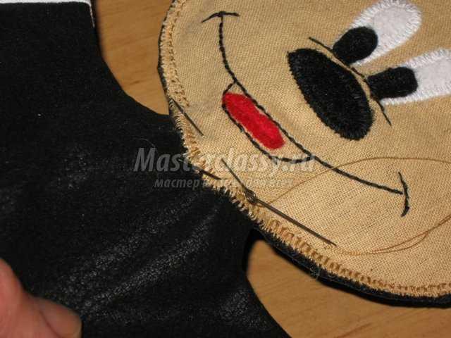 Микки Маус – кукольный театр. Мастер класс. Часть 2