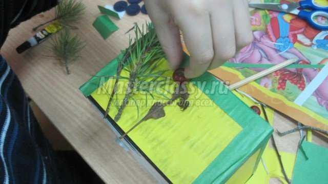 Подставка для карандашей и других разных мелочей
