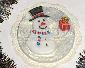 1352273866_3 Снеговик своими руками на Новый год из подручных материалов