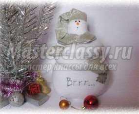 1352416764_kopiya-izobrazhenie-051 Снеговик своими руками на Новый год из подручных материалов