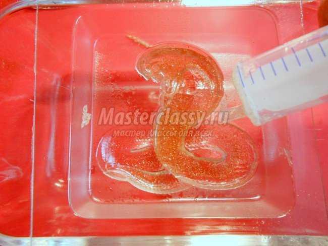 Новогоднее мыло 2013 змея