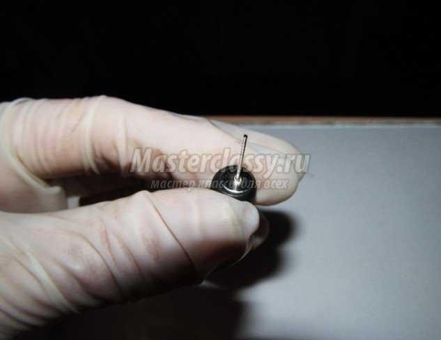 Неформальные серьги Лжерастяжки из полимерной глины
