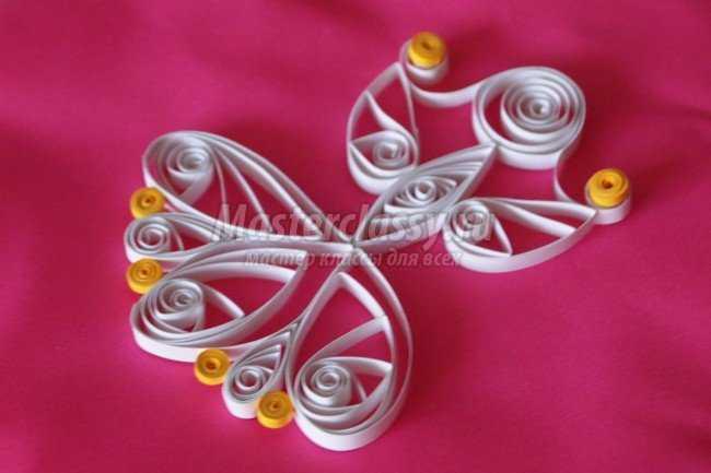 Елочные игрушки из бумаги. Фея