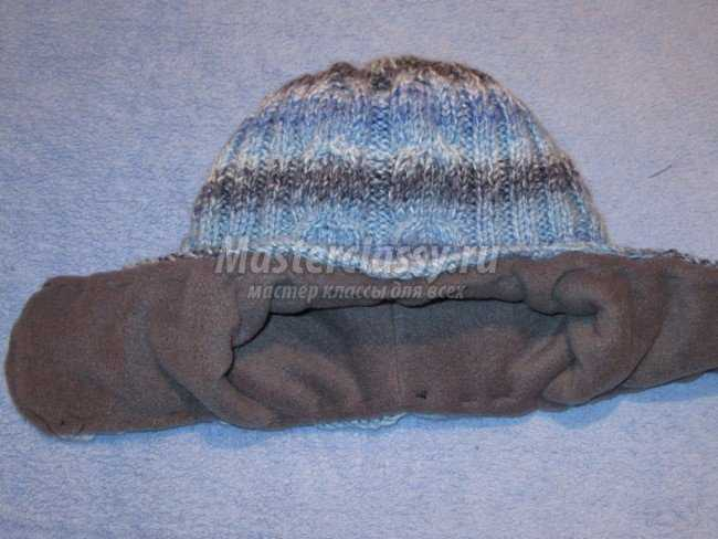 Комплект для ребенка 5-6 лет: шапочка, варежки, шарфик
