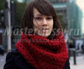 вязание шарфа спицами для женщин старше 60 лет схемы