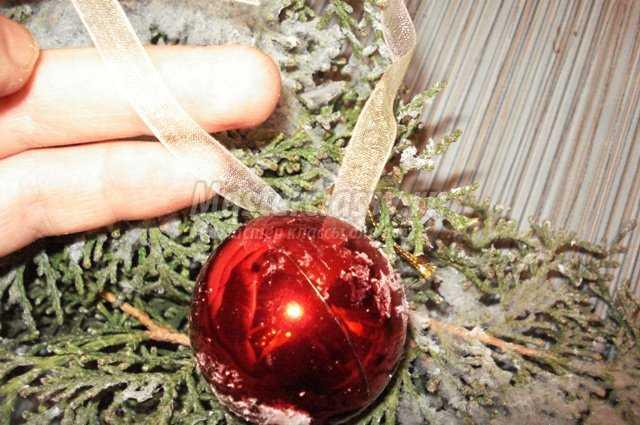 Рождественский венок своими руками. «Натуральный». Часть ІІ.