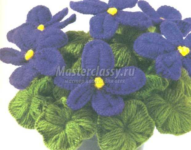 Цветы из ниток и проволоки