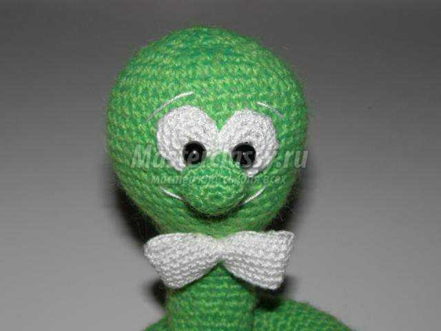 зелёный джентльмен как символ Нового 2013 года. Мастер класс с пошаговым фото