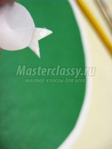 бумагопластика виноград