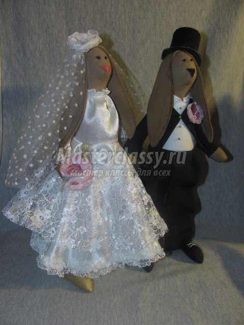 Платье для невесты зайца тильда
