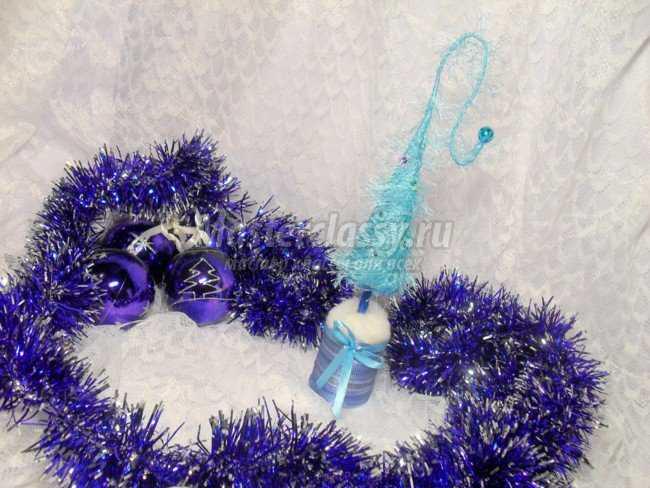 Новогодний сувенир ёлочка своими руками