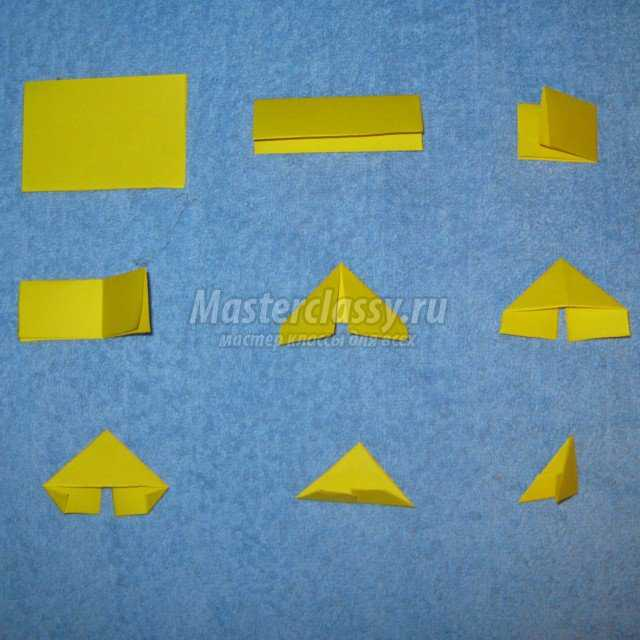 Модульное оригами барби