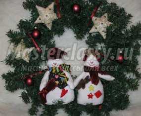 1355528467_str.1-143 Снеговик своими руками на Новый год из подручных материалов