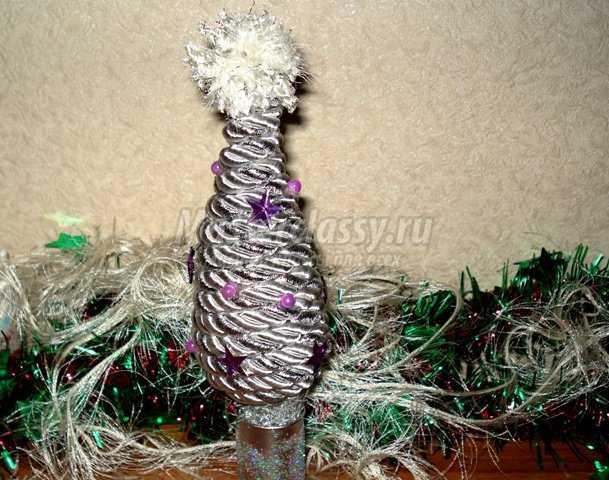 Новогодняя елочка из каната
