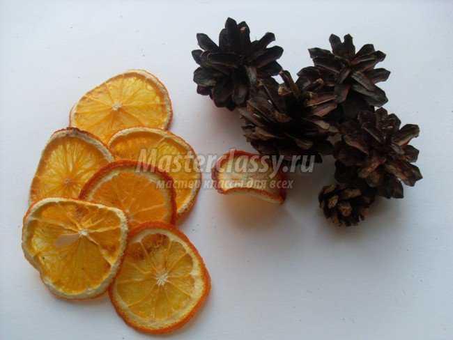 апельсиновый веночек